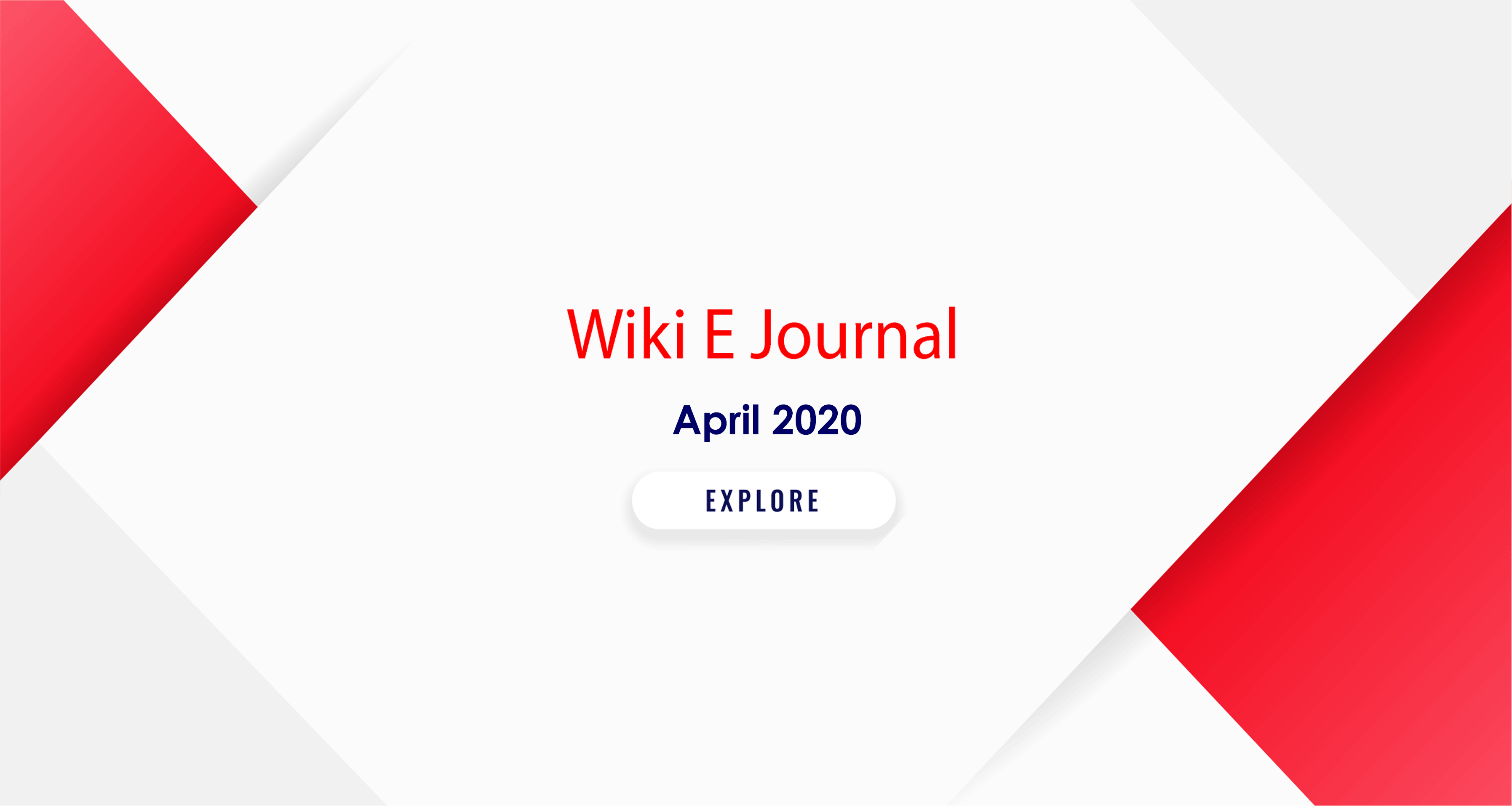 SBS Wiki E Journal April 2020